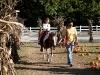 Sarah on the pony